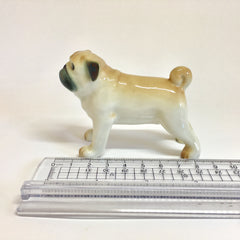 Large Miniature Ceramic Pug