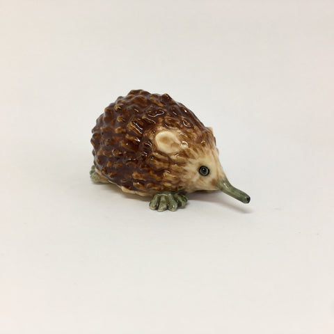 Large Miniature Ceramic Echidna