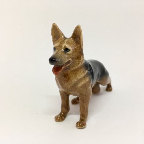Miniature Ceramic German Shepherd