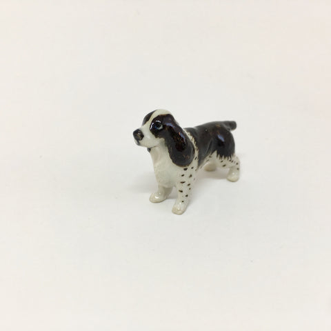 Small Miniature Ceramic English Springer Spaniel