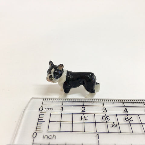 Small Miniature Ceramic French Bulldog