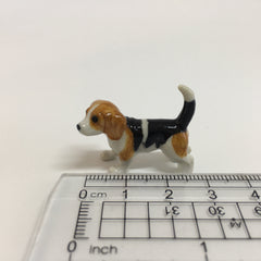 Small Miniature Ceramic Beagle