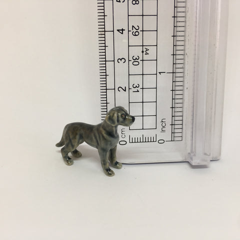 Small Miniature Ceramic Weimaraner