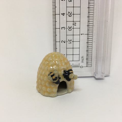 Miniature Ceramic Beehive