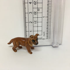 Small Miniature Ceramic Staffordshire Terrier