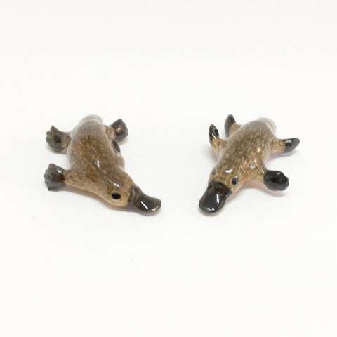 Small Miniature Ceramic Platypus