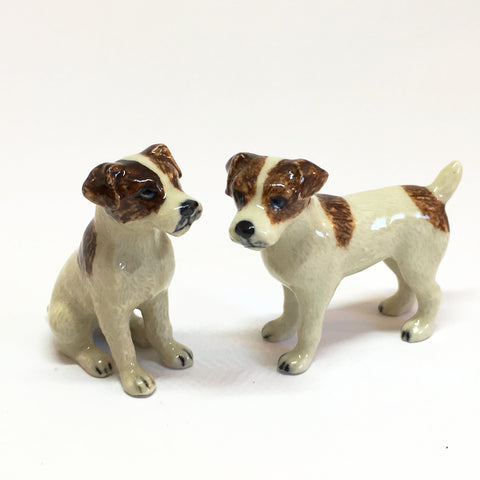 Small Miniature Ceramic Jack Russell