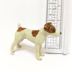 Miniature Ceramic Jack Russell Dog