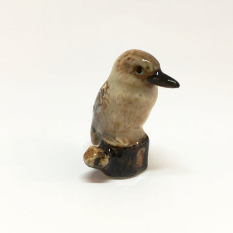 Small Miniature Ceramic Kookaburra