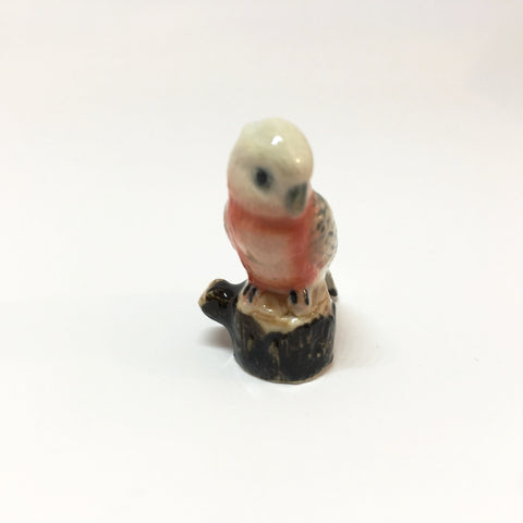 Small Miniature Ceramic Galah
