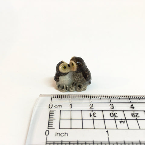 Small Miniature Ceramic Owls - Various