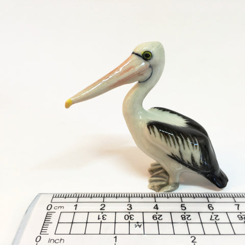 Miniature Ceramic Pelicans