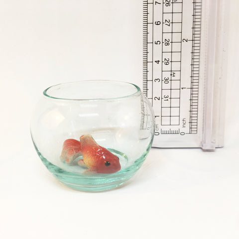 Miniature Ceramic Goldfish