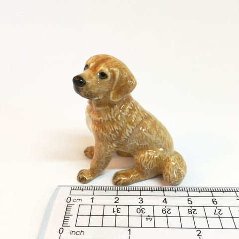 Miniature Ceramic Golden Retrievers