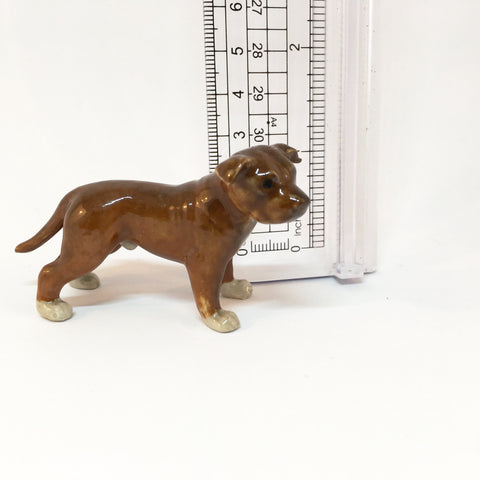 Miniature Ceramic Staffordshire Terrier