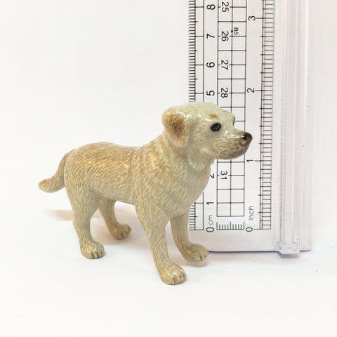 Miniature Ceramic Labrador