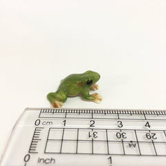 Small Miniature Ceramic Frog