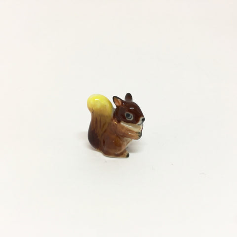 Small Miniature Ceramic Squirrel