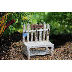 Picket Fence Potting Bench