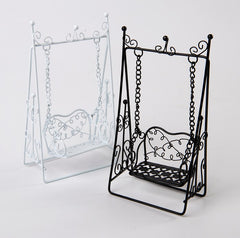Miniature Fairy Garden Swing