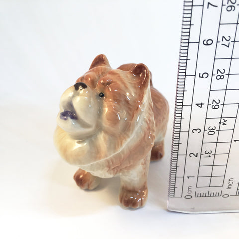 Miniature Ceramic Chow Chow