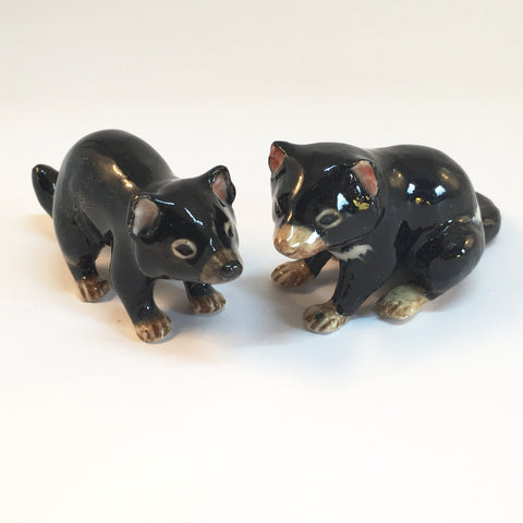 Miniature Ceramic Tasmanian Devil