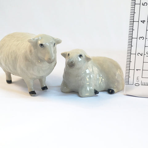 Miniature Ceramic Sheep