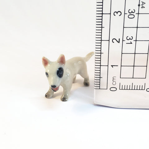 Small Miniature Ceramic Bull Terriers