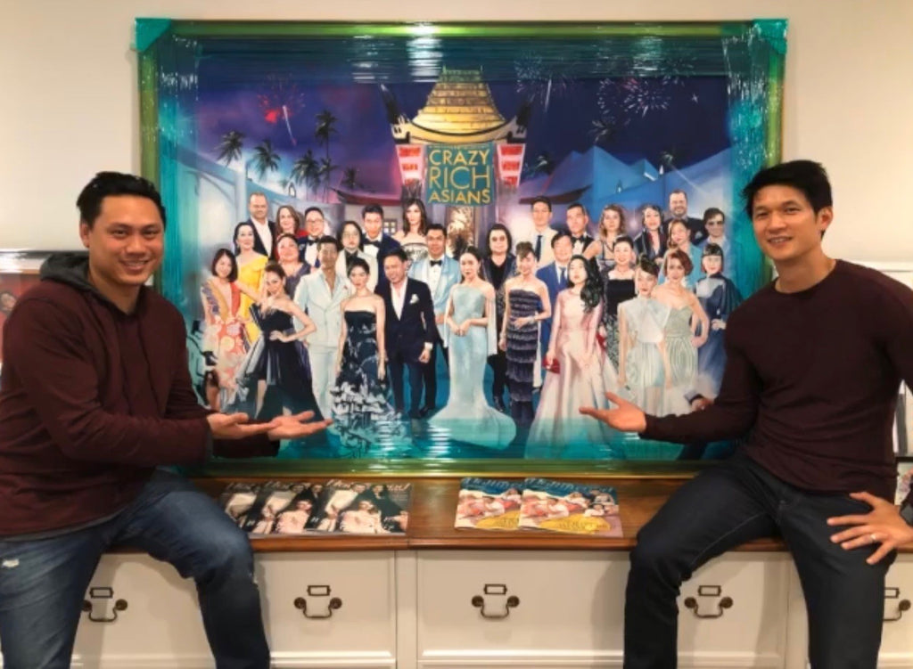 Painting for Crazy Rich Asians has us feeling crazy freakin awesome.
