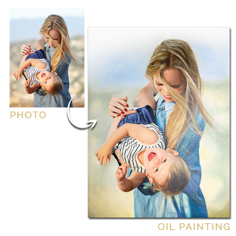 Photo to Oil Painting