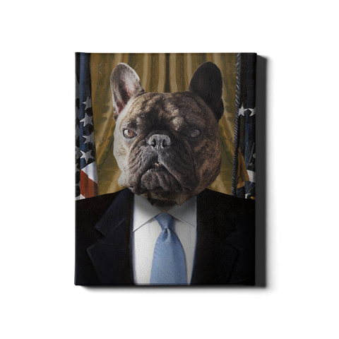 The President - Custom Canvas Print