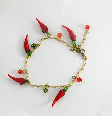 Red Hot Chili Pepper Anklet