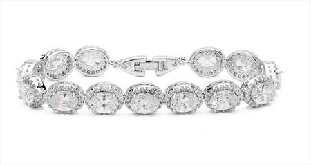AAA CZ Tennis Bracelet for Weddings or Special Occasions
