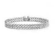Double Row AAA CZ Wedding, Bridal and Special Occasion Bracelet