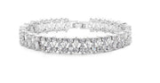 Exquisite AAA CZ Bracelet for Brides, Wedding and Special Occasions