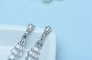 Art Deco AAA CZ Wedding, Bridal and Special Occasion Earrings