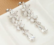AAA Cubic Zirconia Earring for Bride, Bridesmaids or Special Occasion