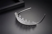 Elegant, First-Class, Dazzling, Diamond-like Cubic Zirconia Tiara