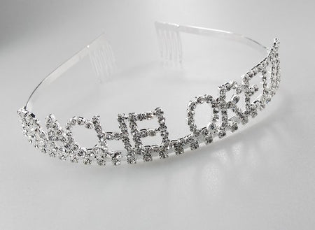 Crystal Bachelorette Tiara for Brides