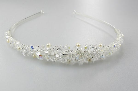 Simply Elegant Crystal Headband/Tiara for Brides