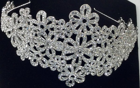 Gorgeous Swarovski Crystal Bridal Headband