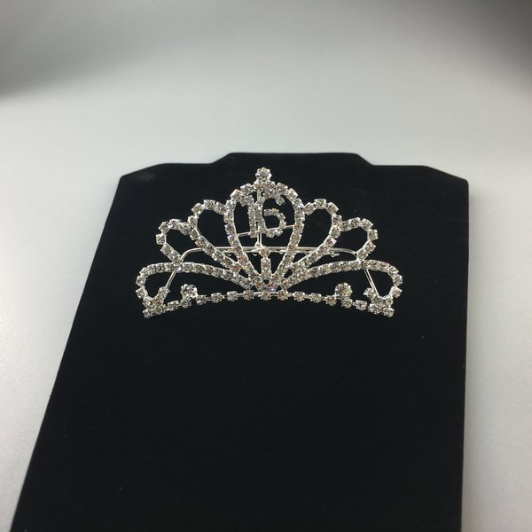 Sweet 16 Crystal Tiara