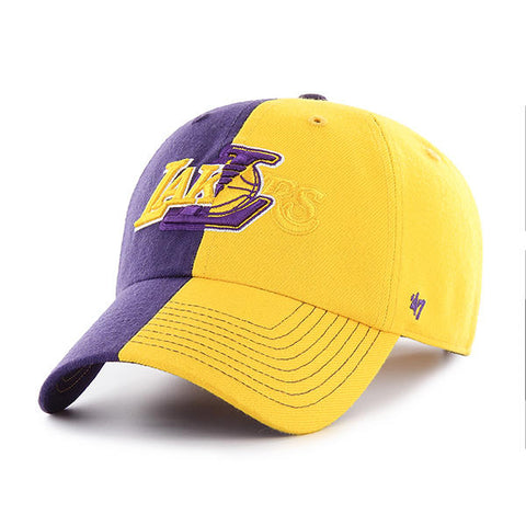 Los Angeles Lakers Split Tone Clean Up Cap