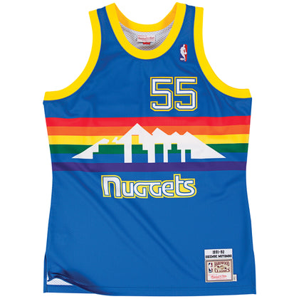 Denver Nuggets Dikembe Mutombo Authentic Jersey