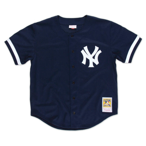 Bernie Williams New York Yankees Button Front Batting Practice Jersey