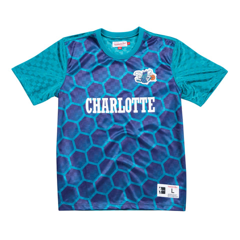 Charlotte Hornets soccer style jersey