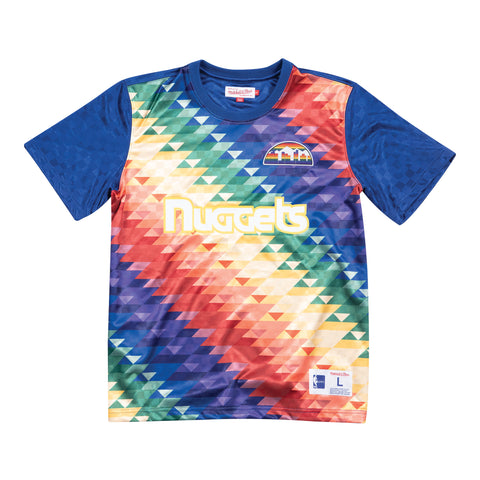 Denver Nuggets soccer style jersey