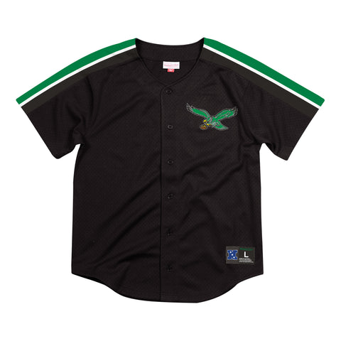 Philadelphia Eagles Winning Team Mesh Button Front Jersey