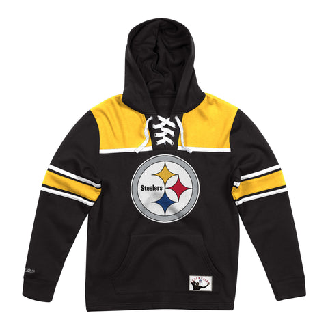 Pittsburgh Steelers Hockey Fleece Hoodie
