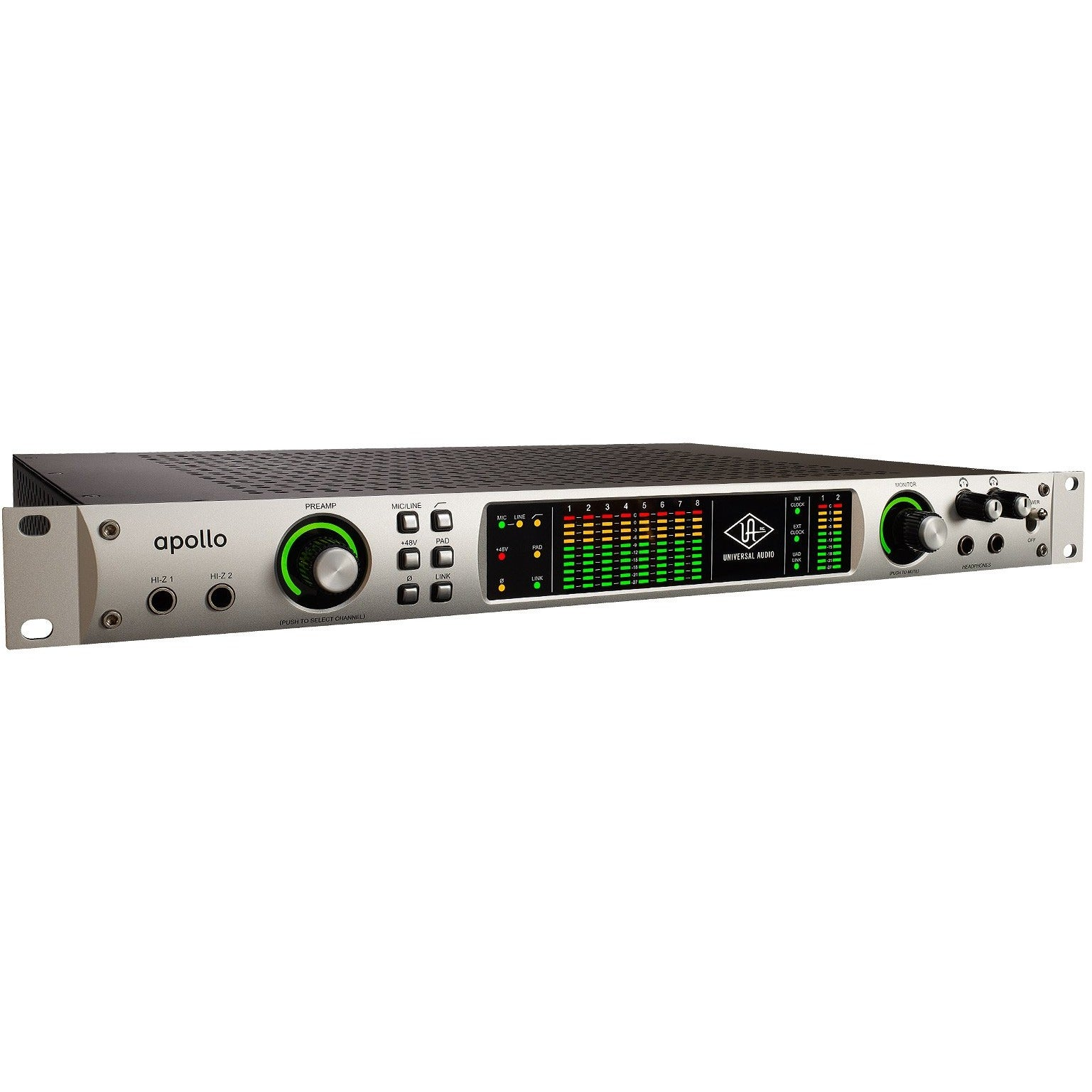 Apollo Firewire w/ UAD QUAD Core processing